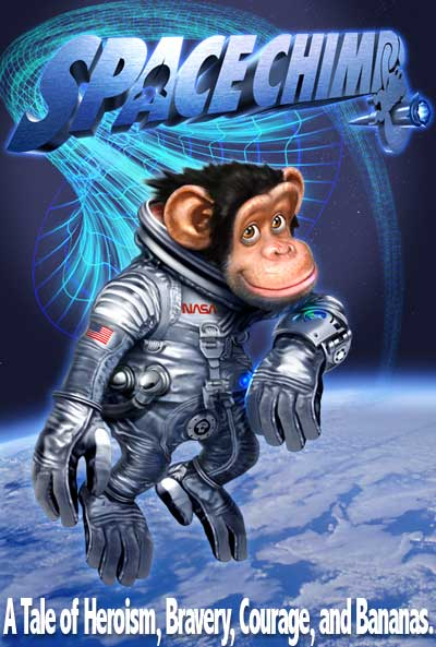 Мартышки в космосе, постер № 1