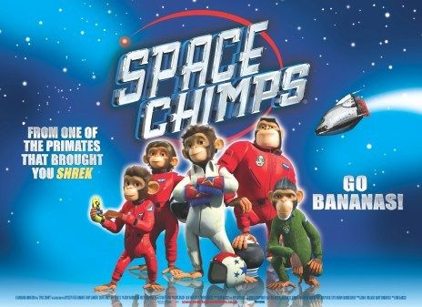 Мартышки в космосе, постер № 11