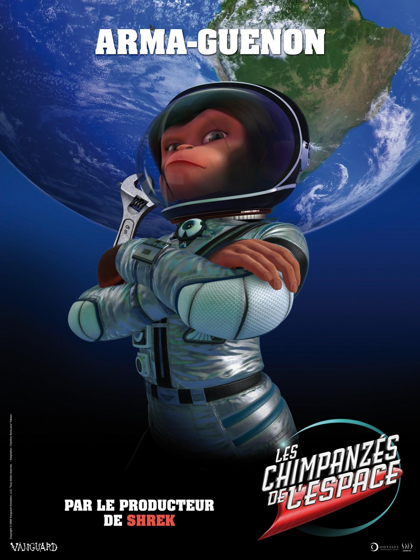 Мартышки в космосе, постер № 6