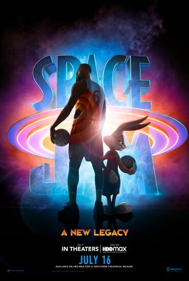 Постеры фильма «Космический джем: Новое поколение»