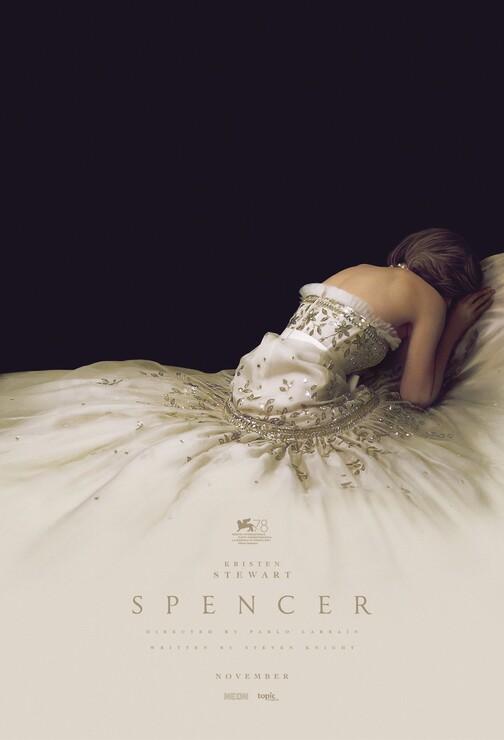 Постеры фильма «Спенсер: История принцессы Дианы»
