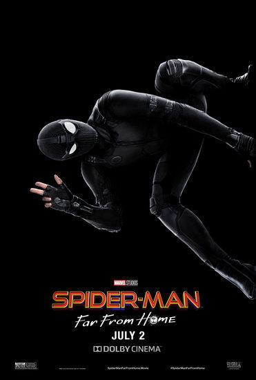 Постеры фильма «Человек-паук: Вдали от дома»