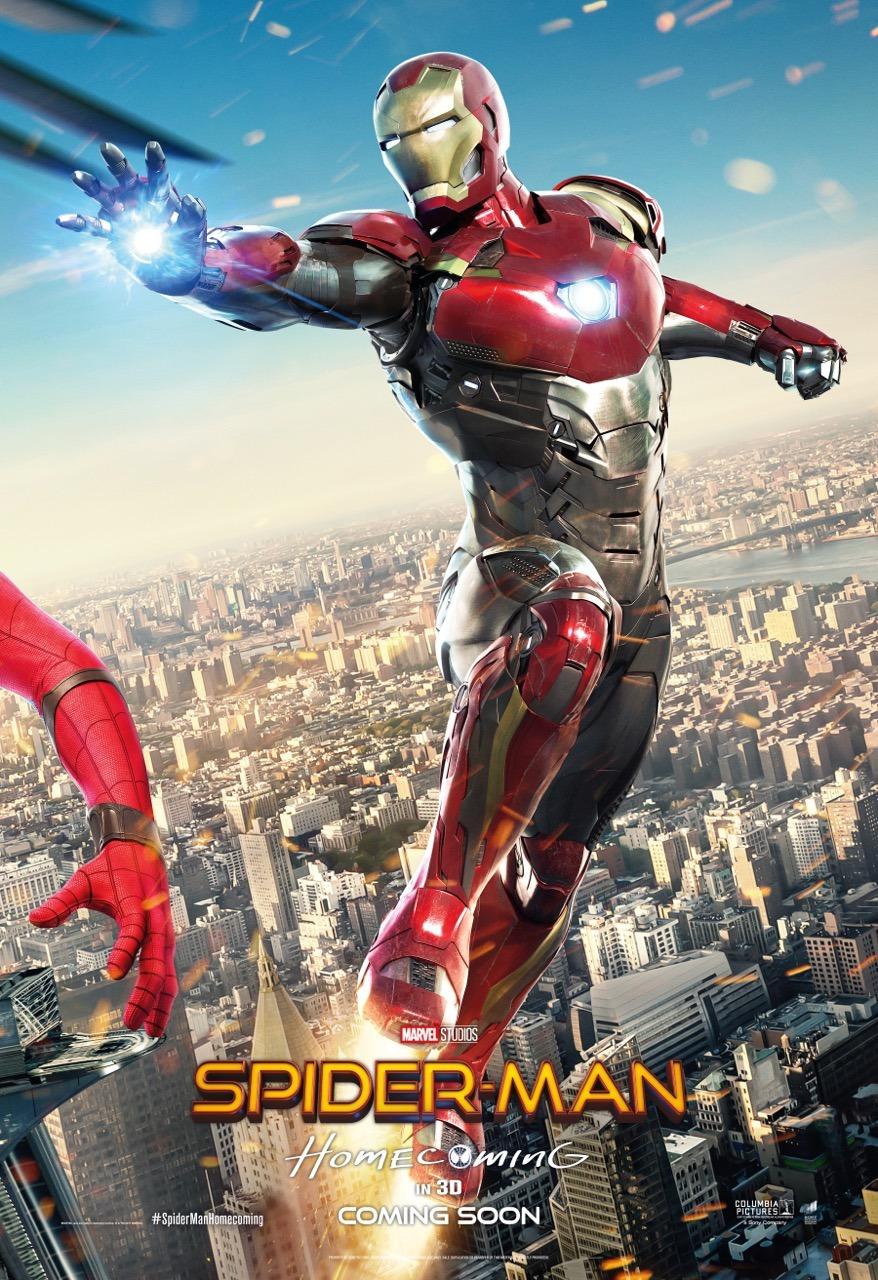 Человек-паук: Возвращение домой, постер № 11