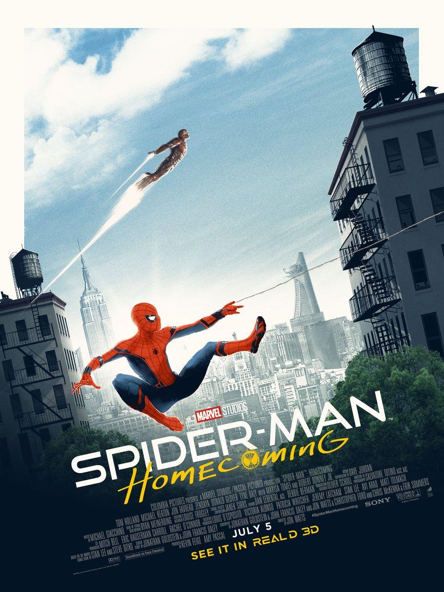 Человек-паук: Возвращение домой, постер № 8