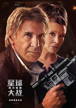Постеры фильма «Звёздные войны: Пробуждение Силы»
