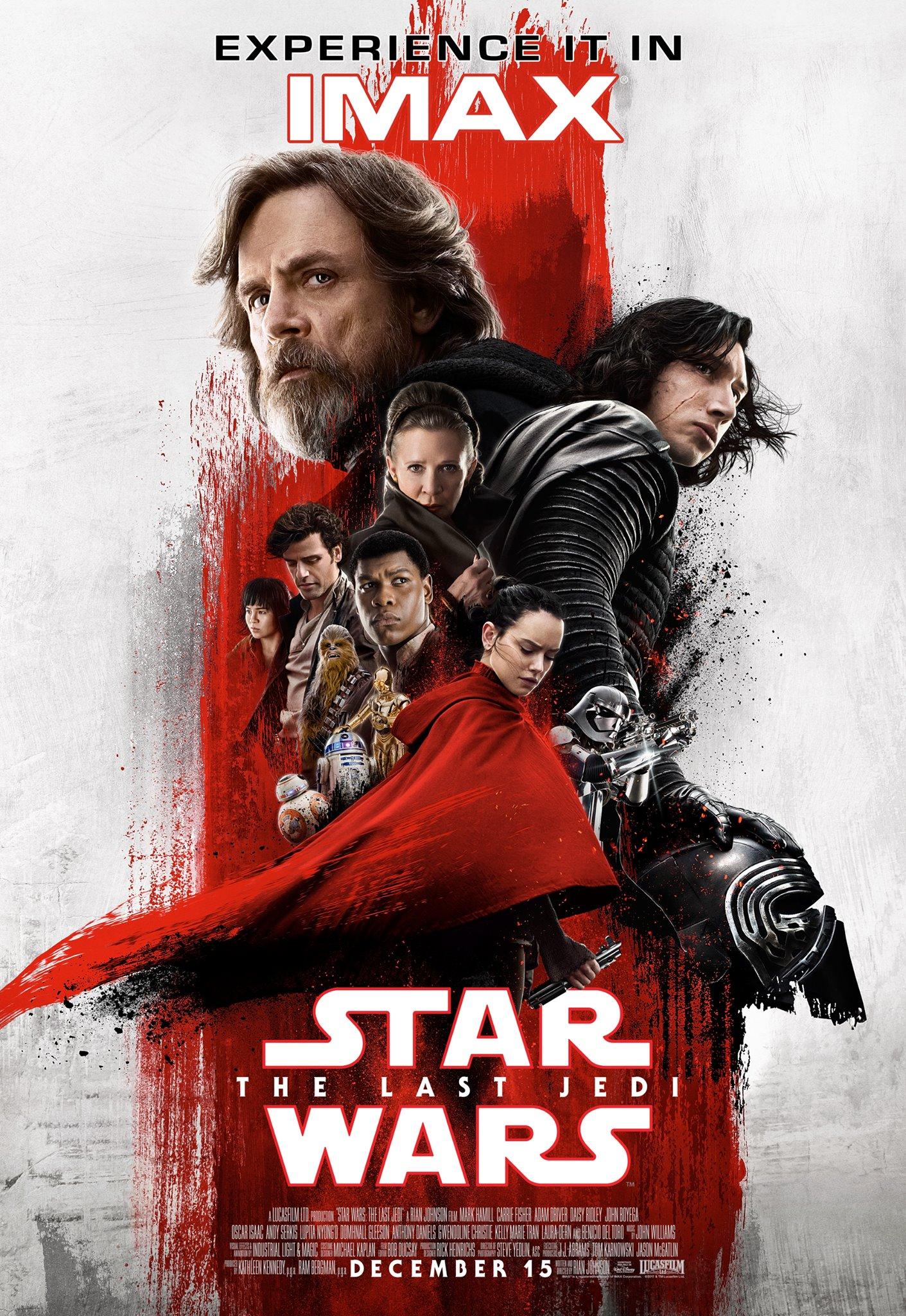Звёздные войны: Последние джедаи, постер № 23