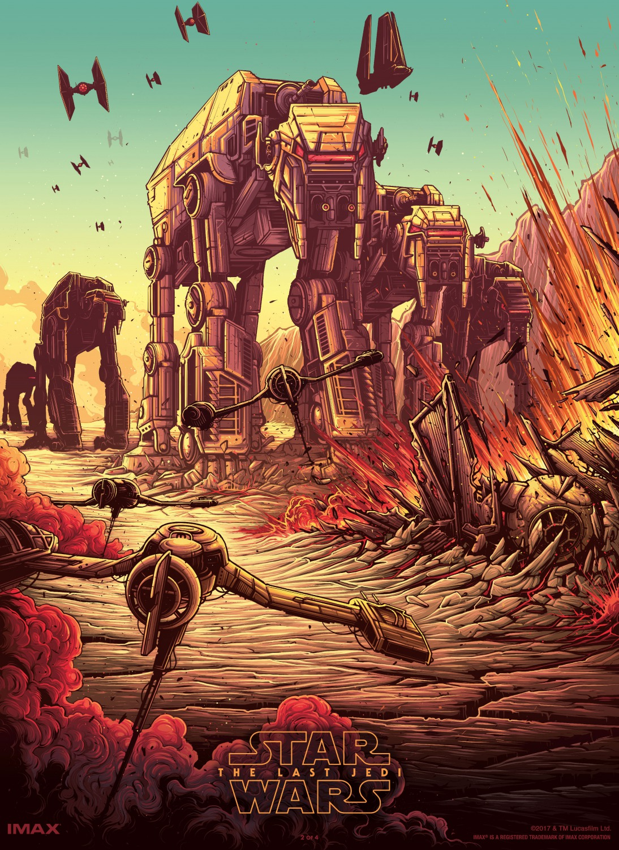 Звёздные войны: Последние джедаи, постер № 75
