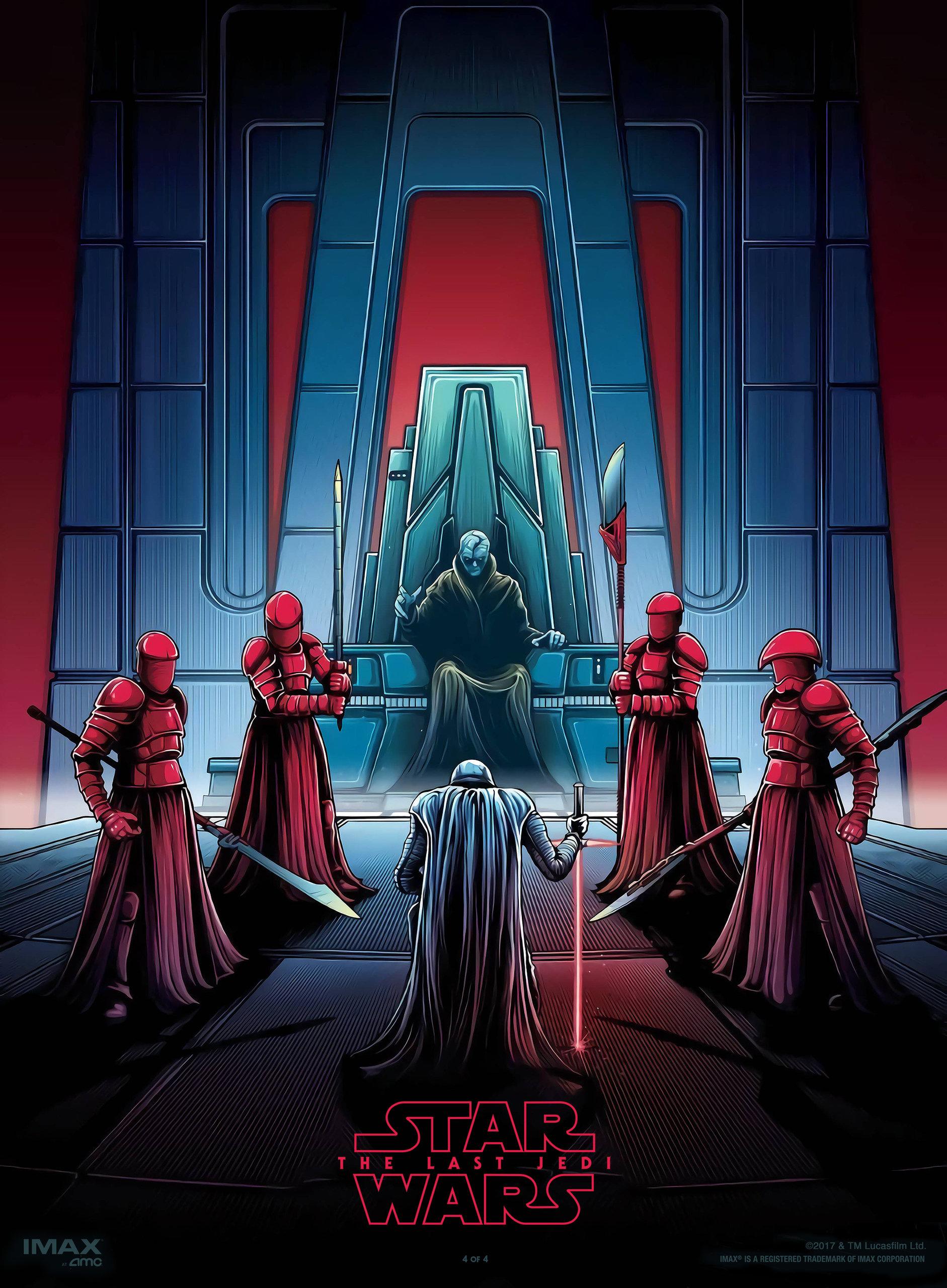Звёздные войны: Последние джедаи, постер № 77