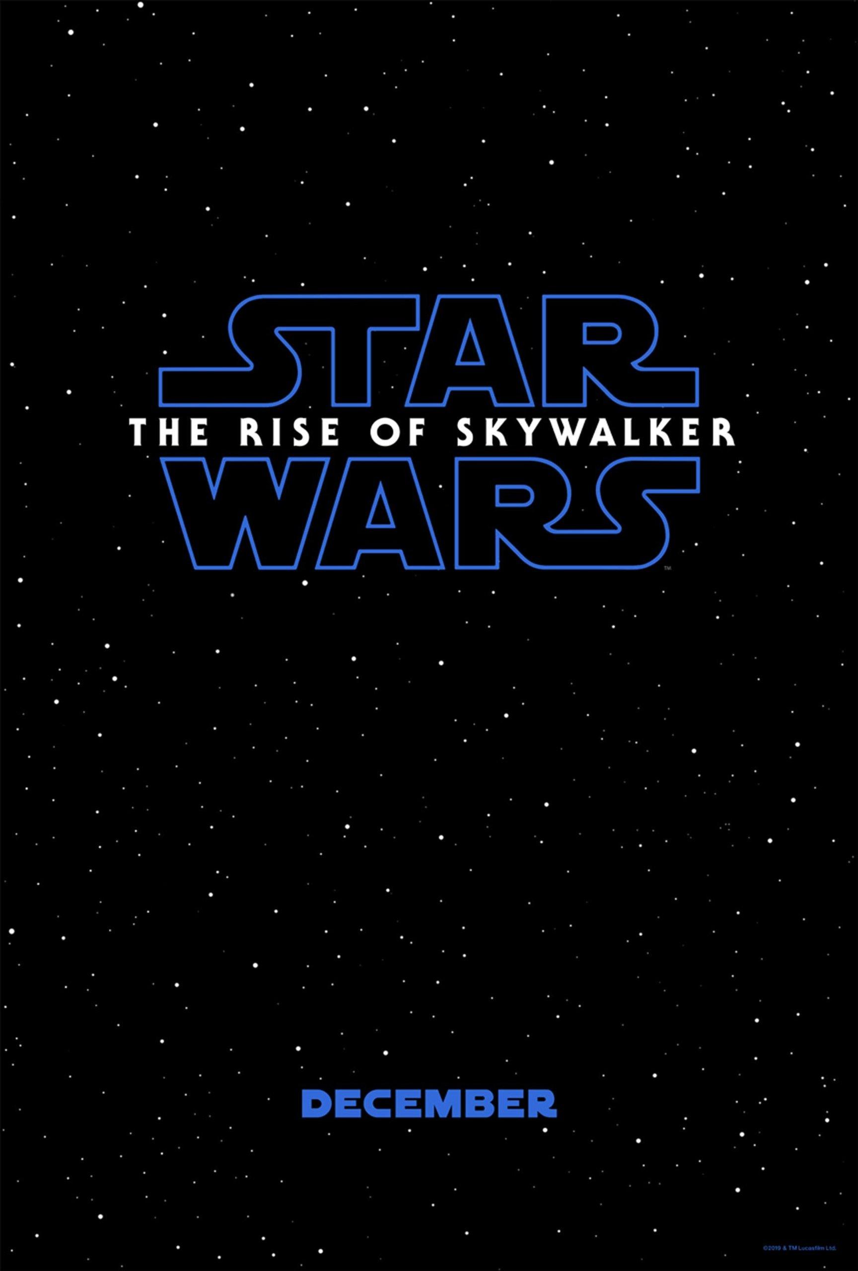 Звёздные войны: Скайуокер. Восход, постер № 1