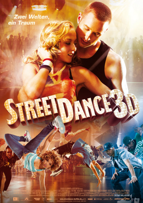 Уличные танцы в 3D, постер № 1