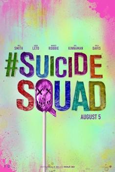 Постеры фильма «Отряд самоубийц»