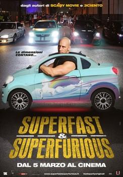 Постеры фильма «Суперфорсаж!»