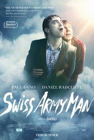 Постеры фильма «Человек — швейцарский нож»