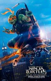 Постеры фильма «Черепашки-ниндзя 2»