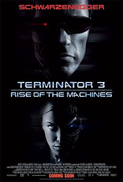 Терминатор 3: Восстание машин, постер № 2