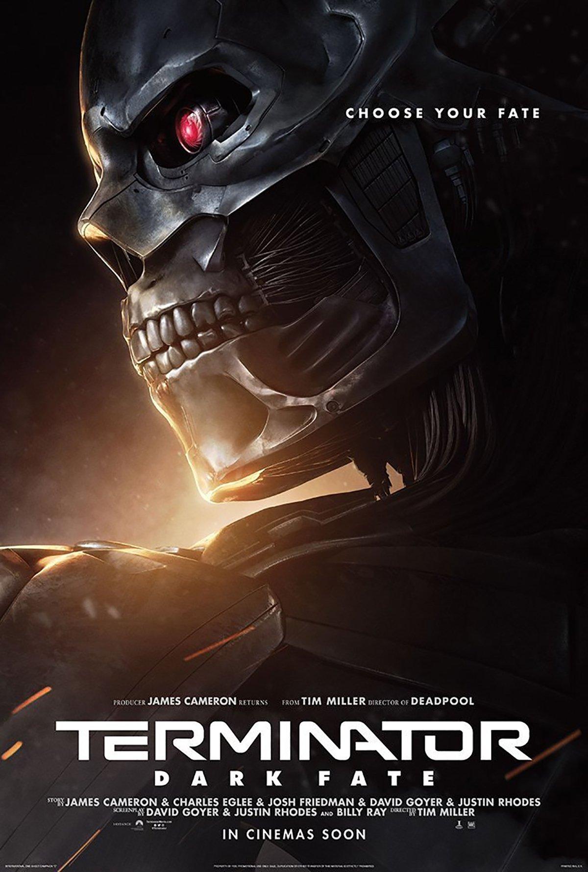 Терминатор: Тёмные судьбы, постер № 10