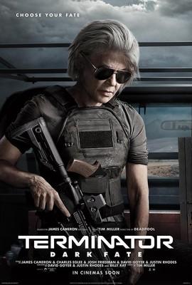 Постеры фильма «Терминатор: Тёмные судьбы»