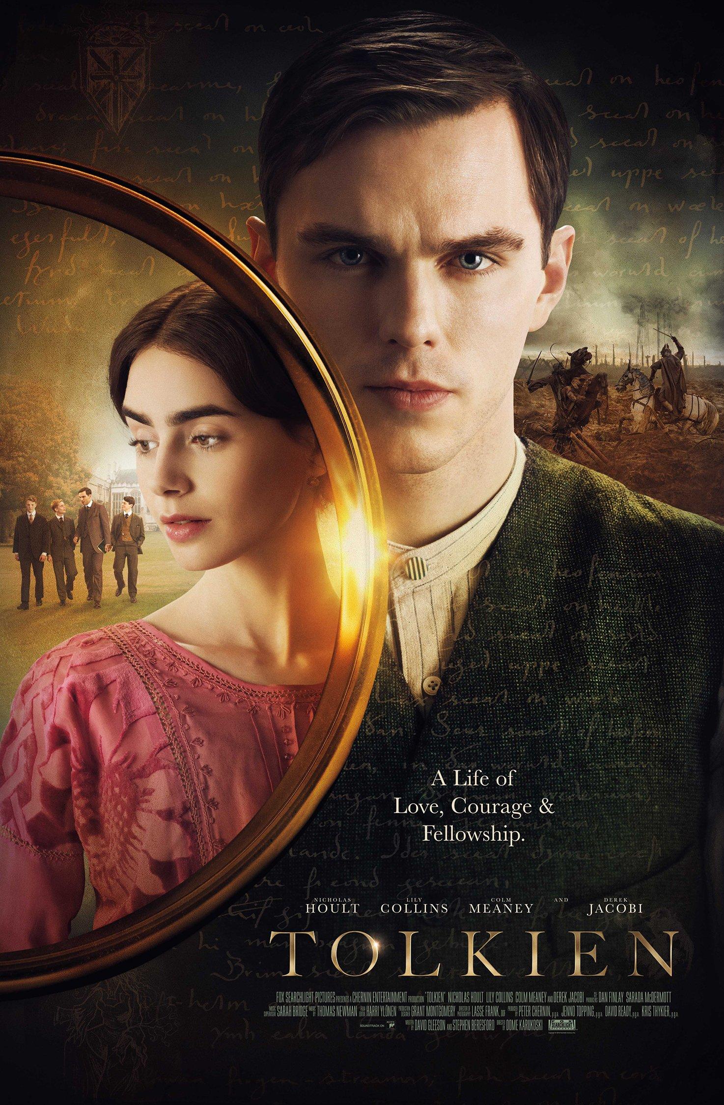 Толкиен, постер № 2