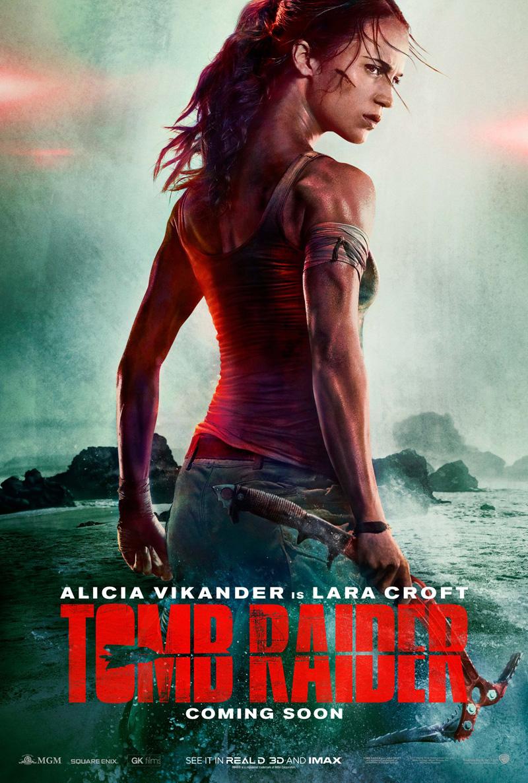 Tomb Raider: Лара Крофт, постер № 1