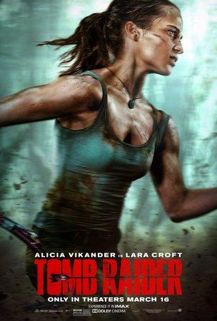 Постеры фильма «Tomb Raider: Лара Крофт»