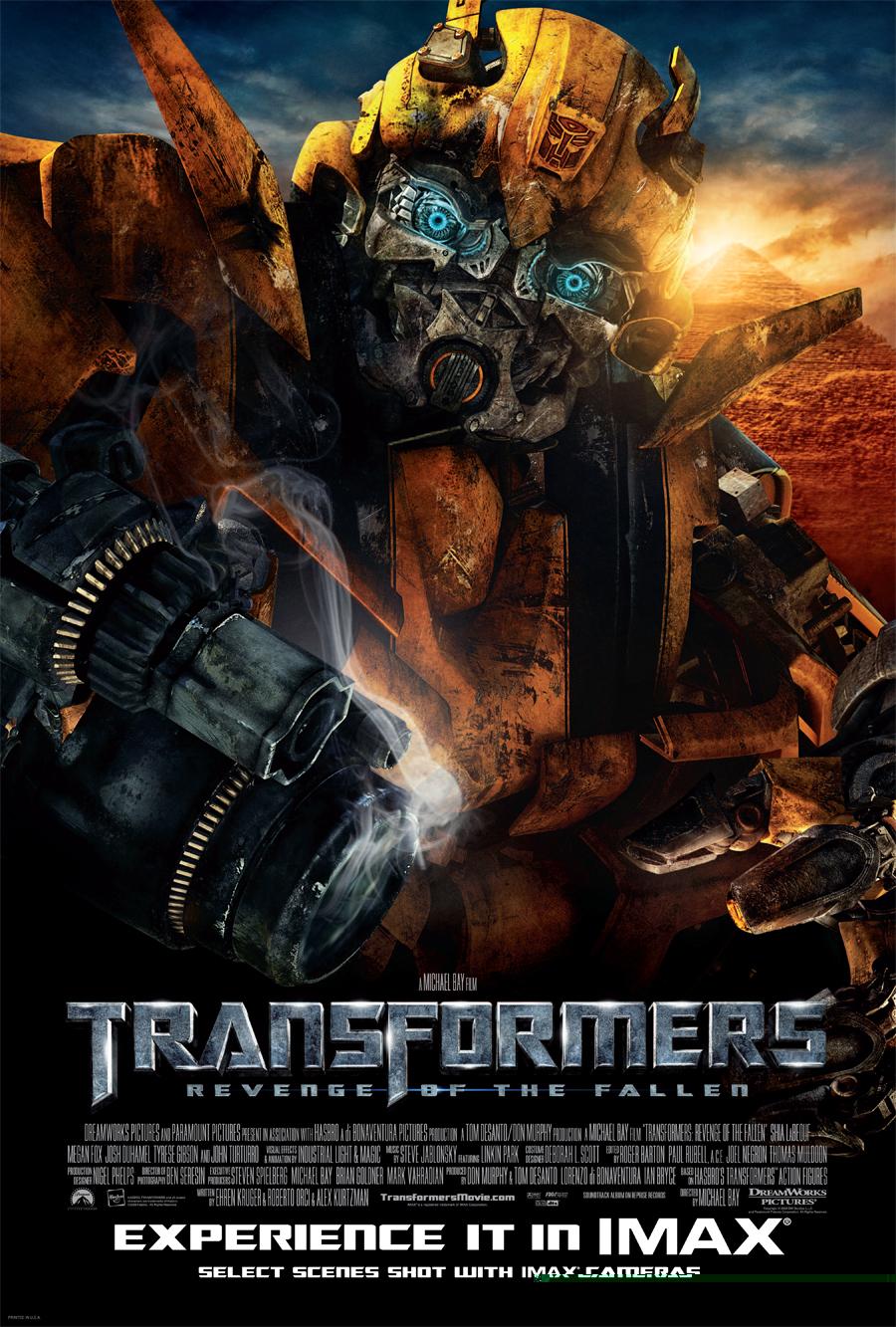 Трансформеры 2: Месть падших, постер № 8