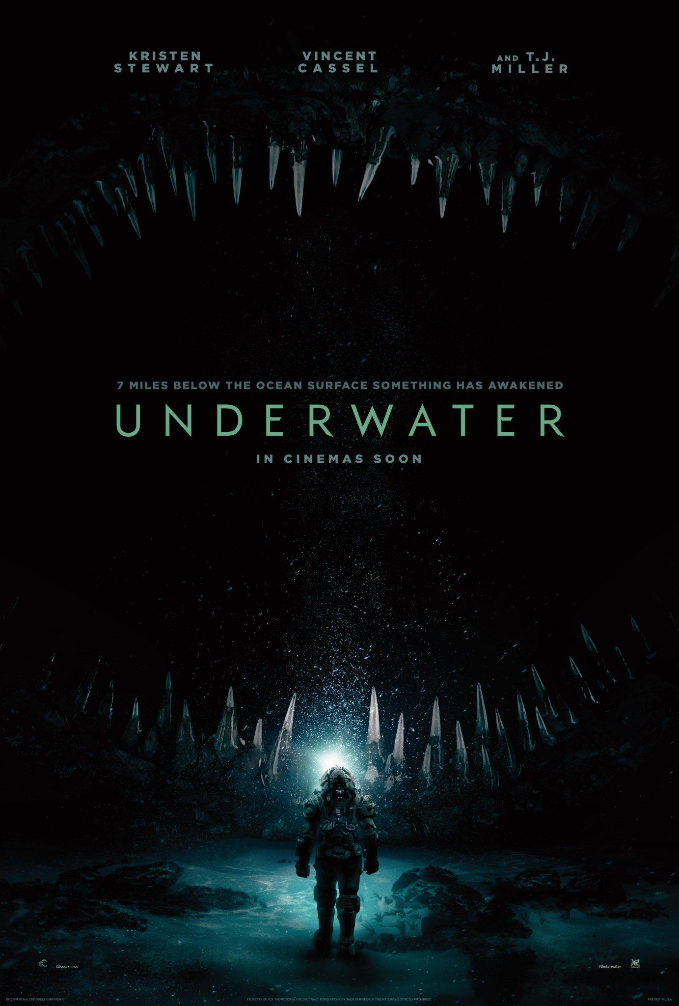 Под водой, постер № 2