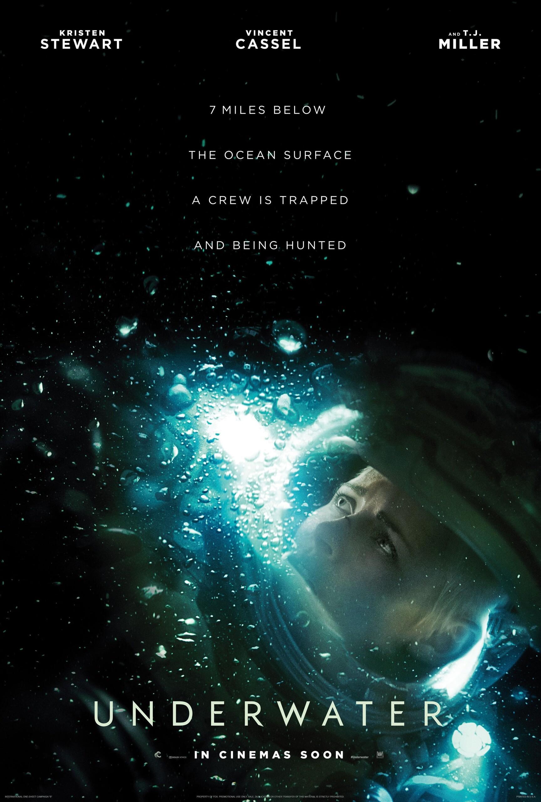 Под водой, постер № 5