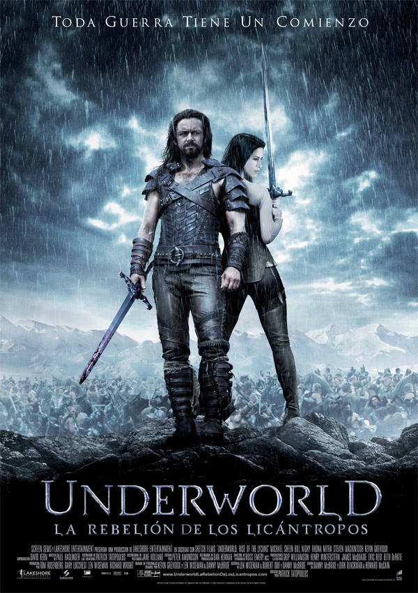 Другой мир: Восстание ликанов, постер № 7
