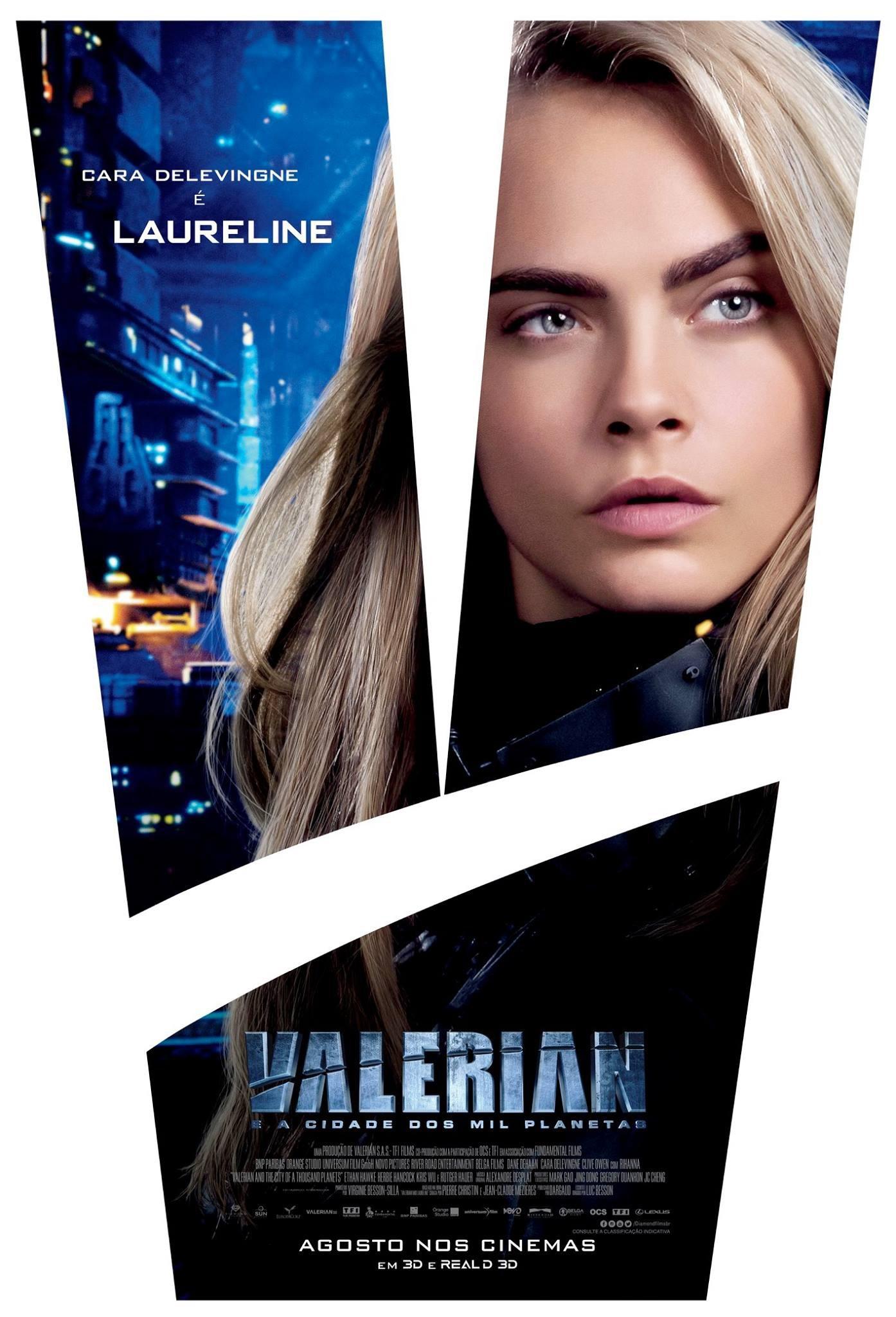 Валериан игород тысячи планет, постер № 10