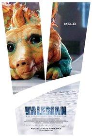 Постеры фильма «Валериан игород тысячи планет»