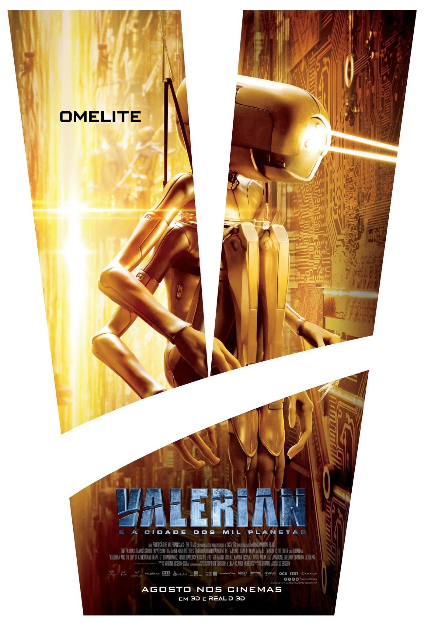 Валериан игород тысячи планет, постер № 12