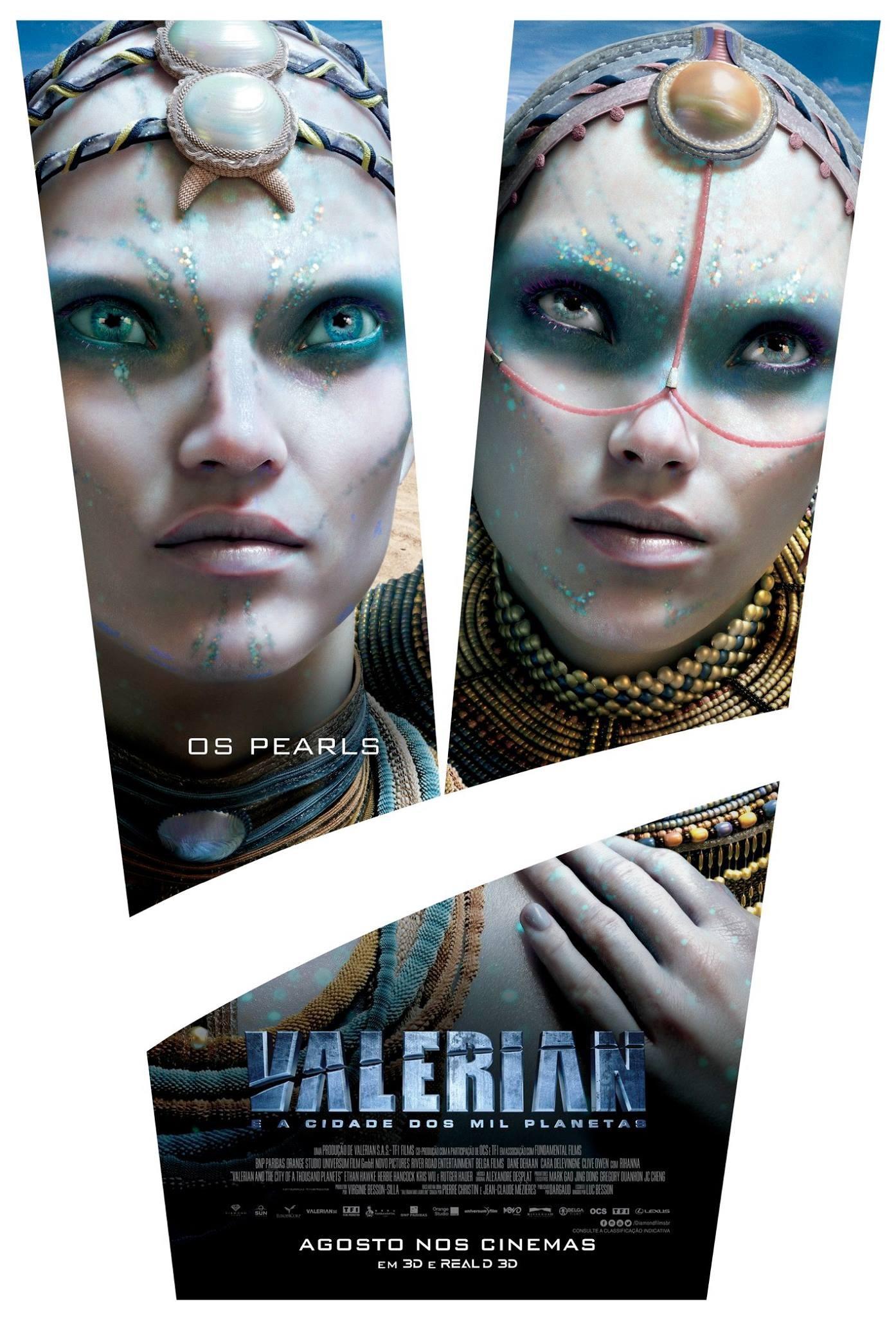 Валериан игород тысячи планет, постер № 13