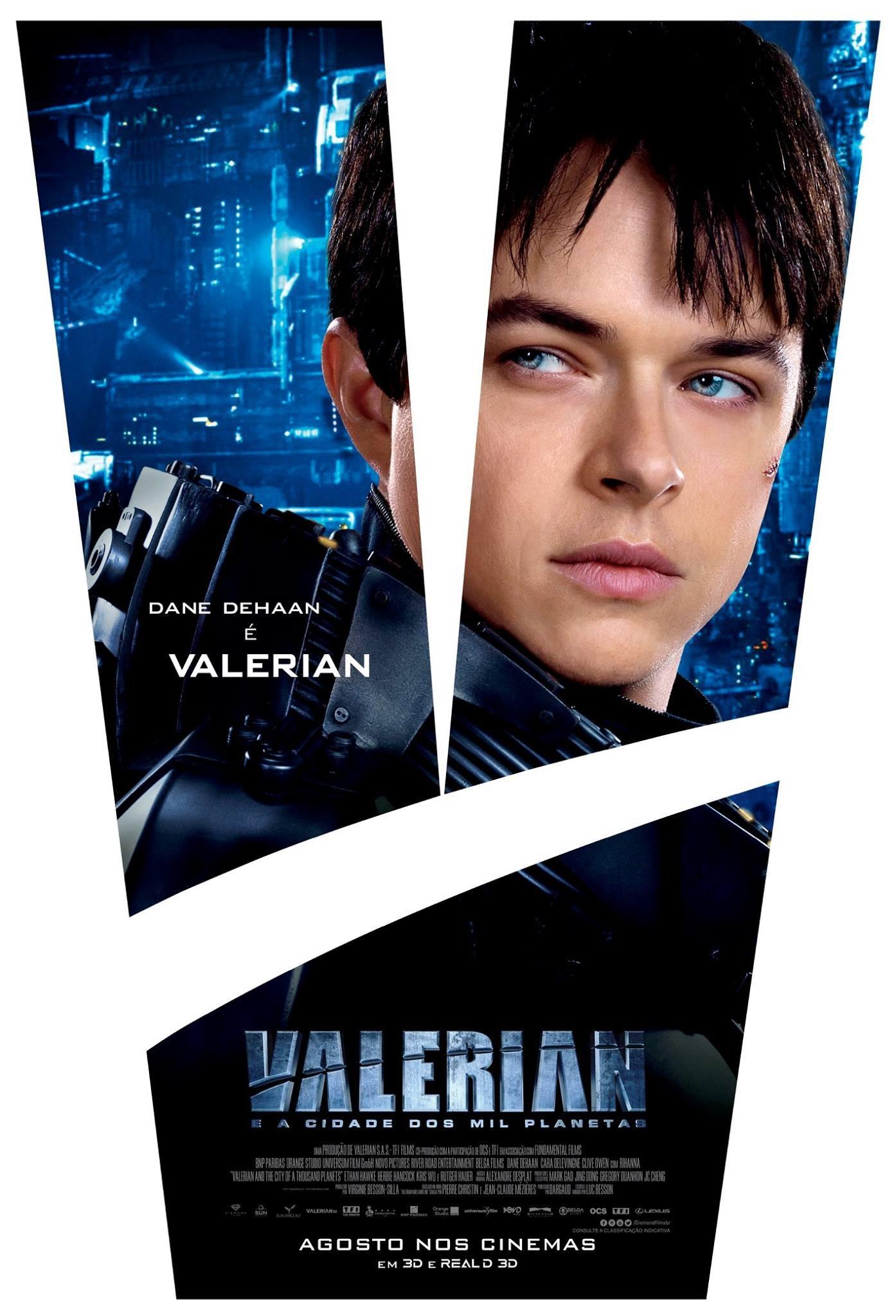 Валериан игород тысячи планет, постер № 14