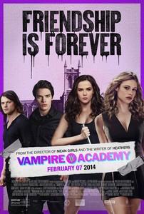 Постеры фильма «Академия вампиров»