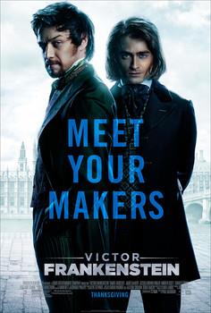 Постеры фильма «Виктор Франкенштейн»
