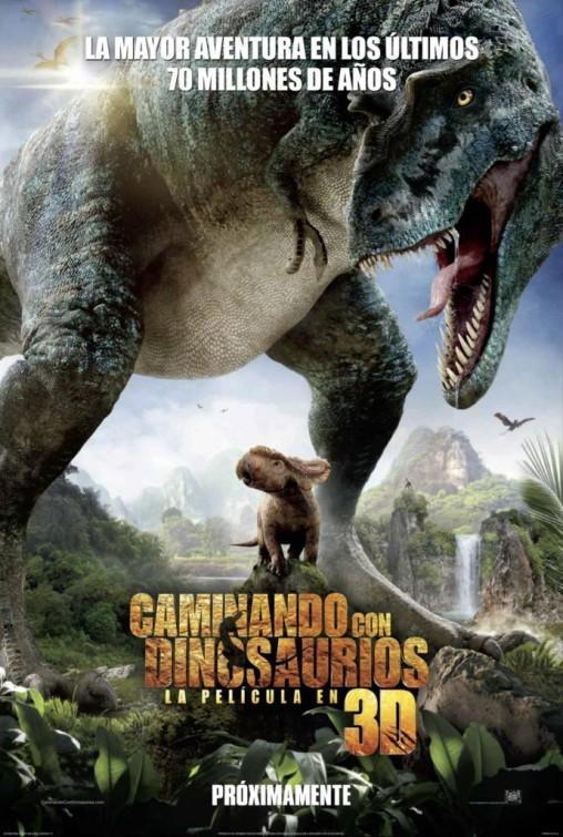 Прогулки с динозаврами 3D, постер № 1