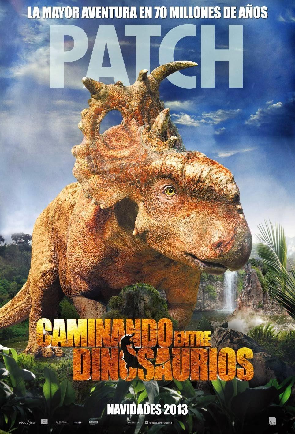 Прогулки с динозаврами 3D, постер № 11
