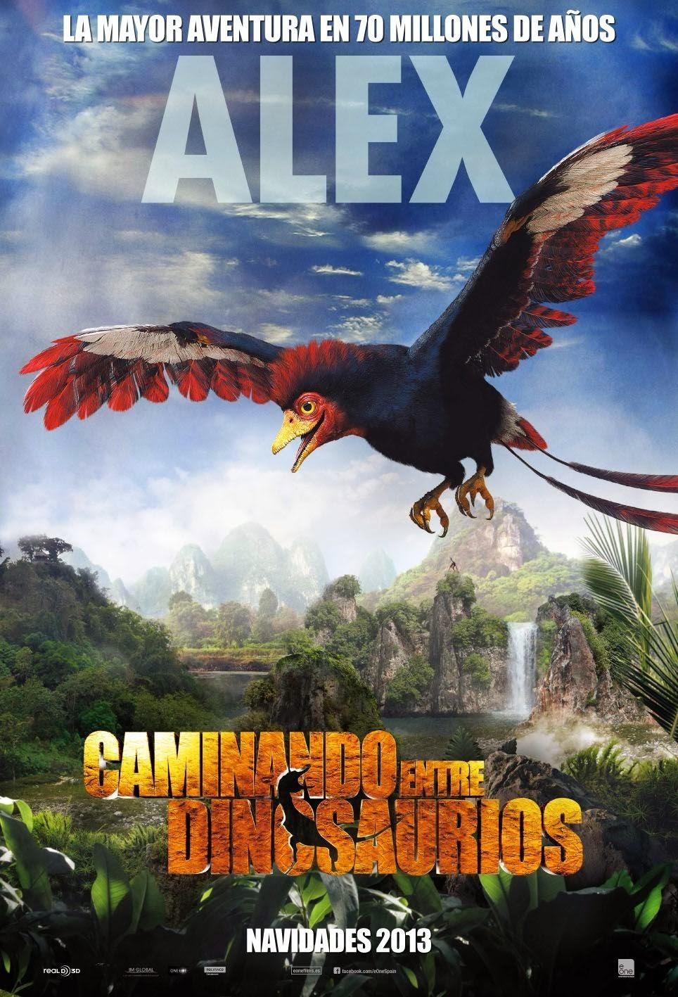 Прогулки с динозаврами 3D, постер № 13