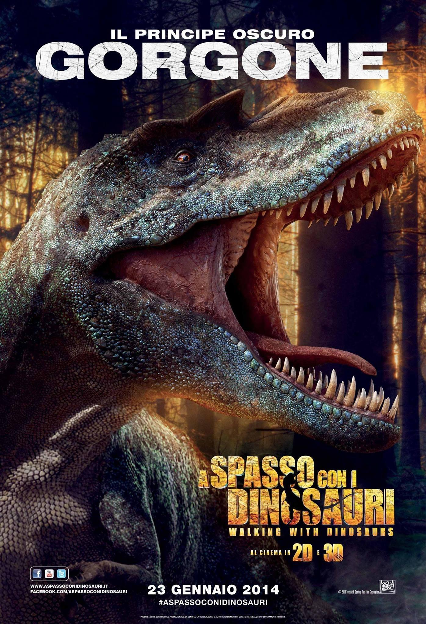 Прогулки с динозаврами 3D, постер № 3