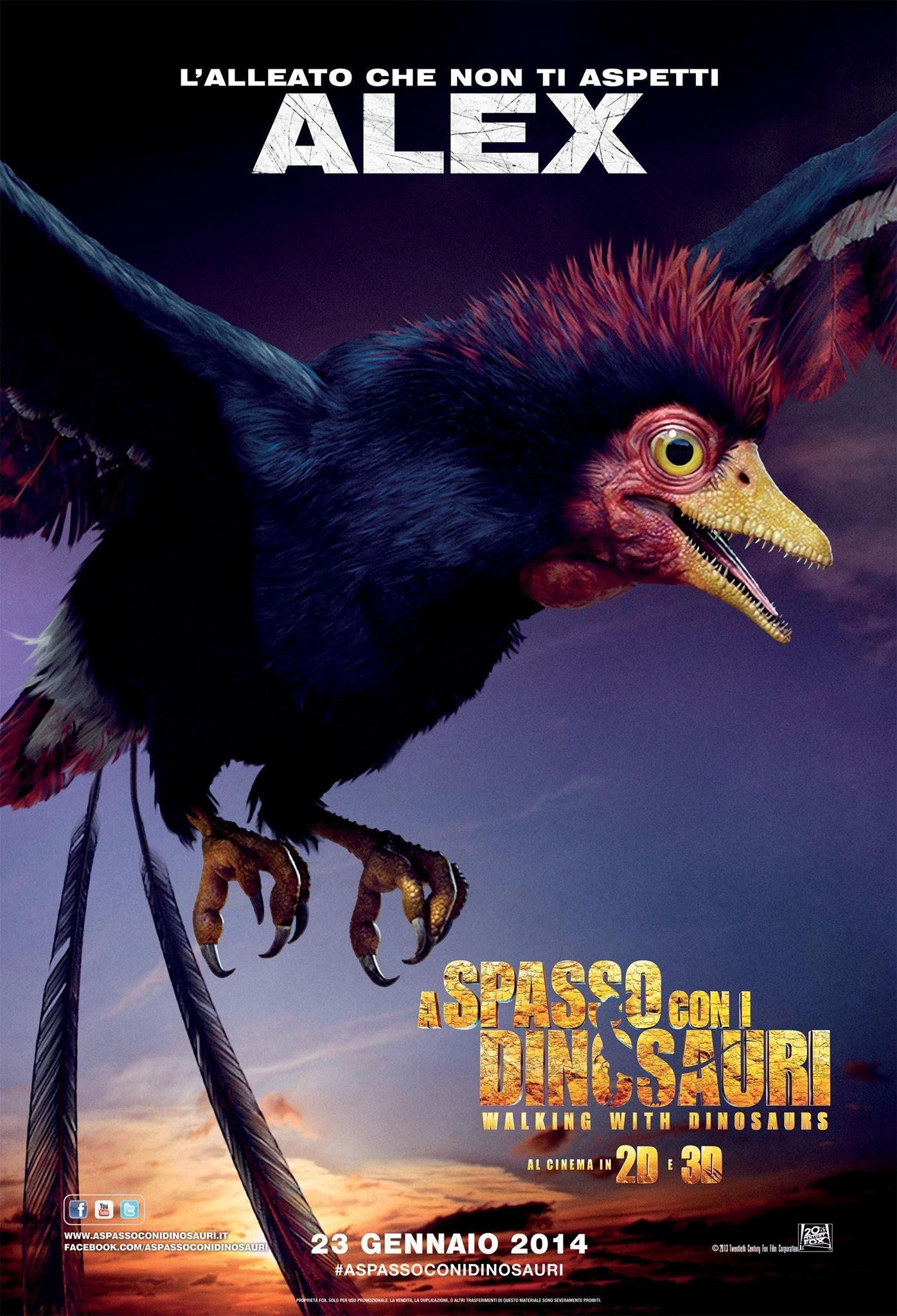 Прогулки с динозаврами 3D, постер № 4