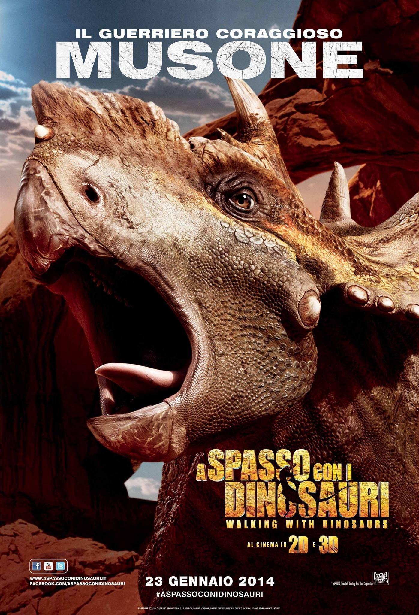 Прогулки с динозаврами 3D, постер № 5