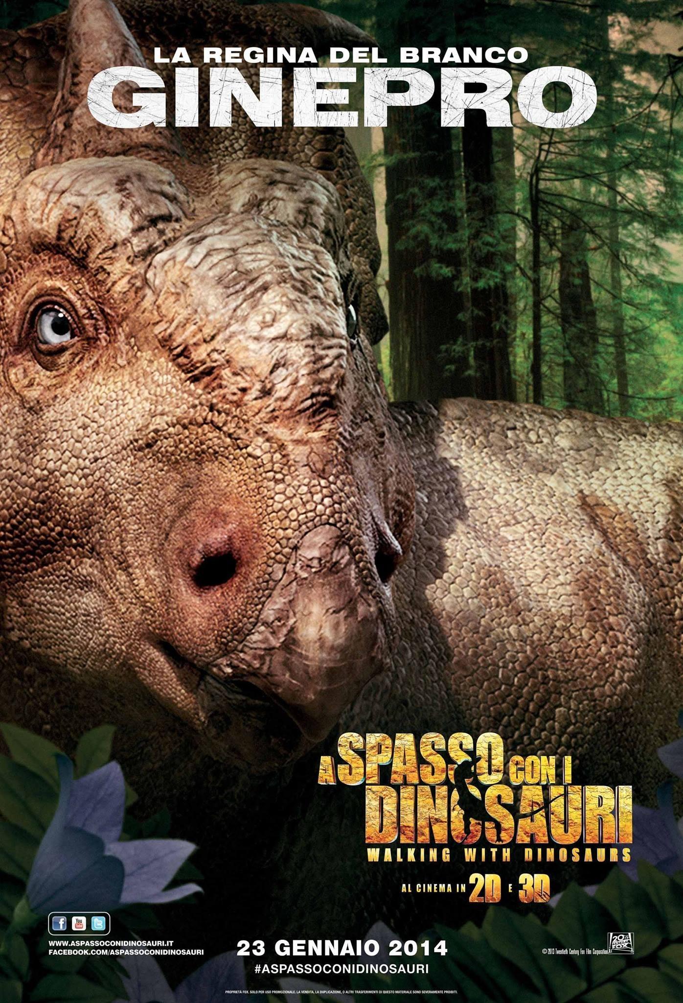 Прогулки с динозаврами 3D, постер № 6