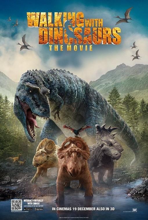 Прогулки с динозаврами 3D, постер № 8