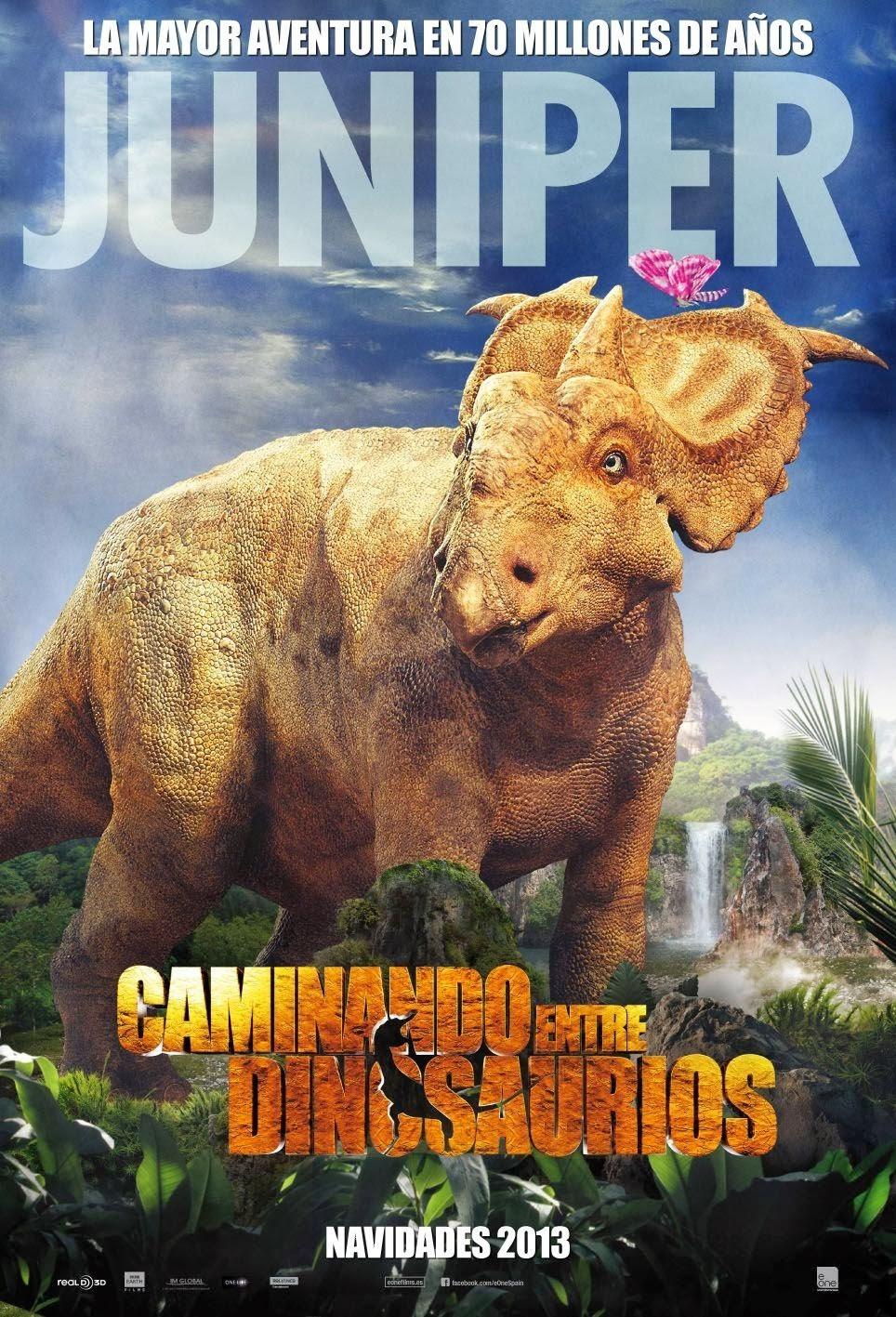 Прогулки с динозаврами 3D, постер № 9