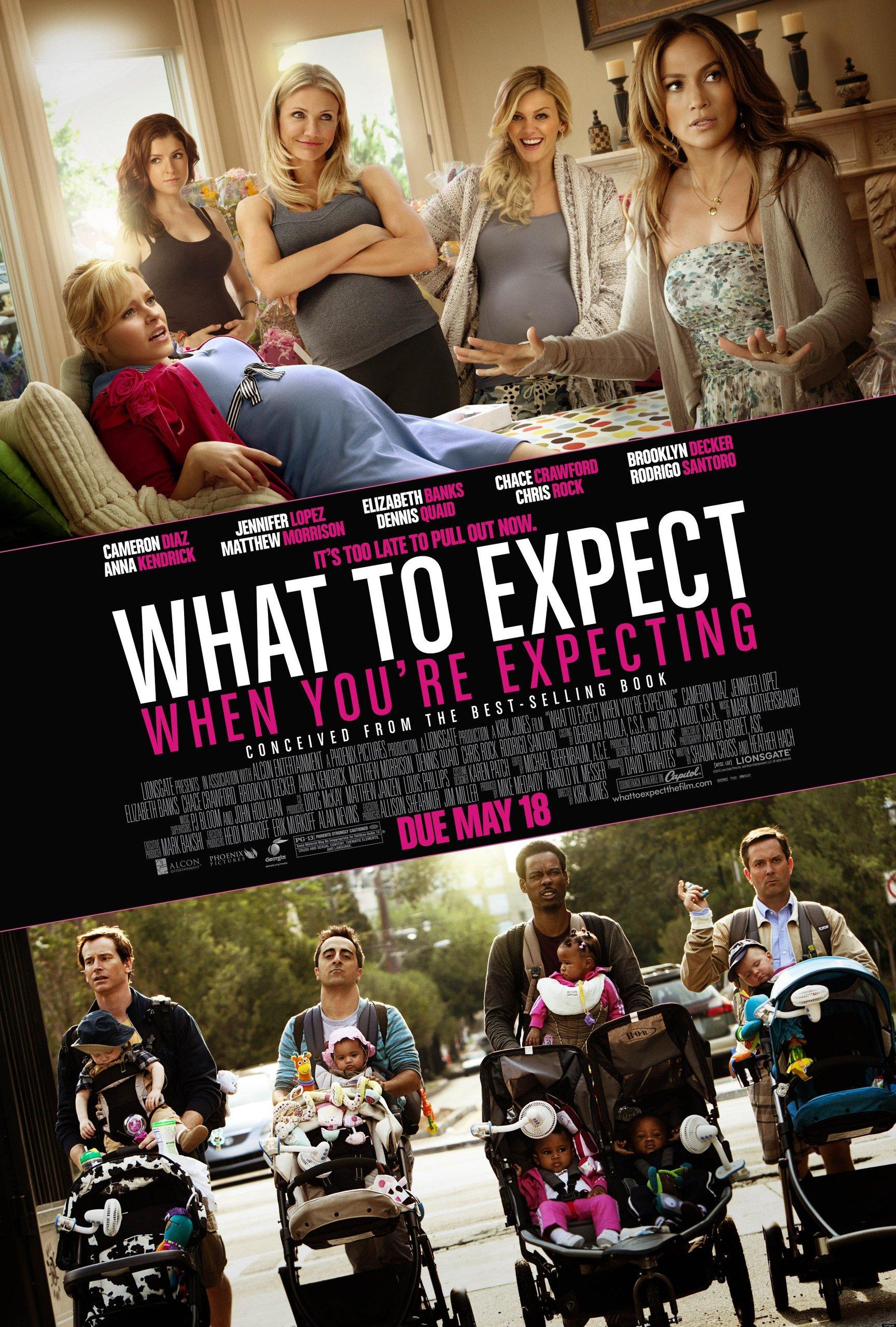 Чего ждать, когда ждёшь ребёнка, постер № 7