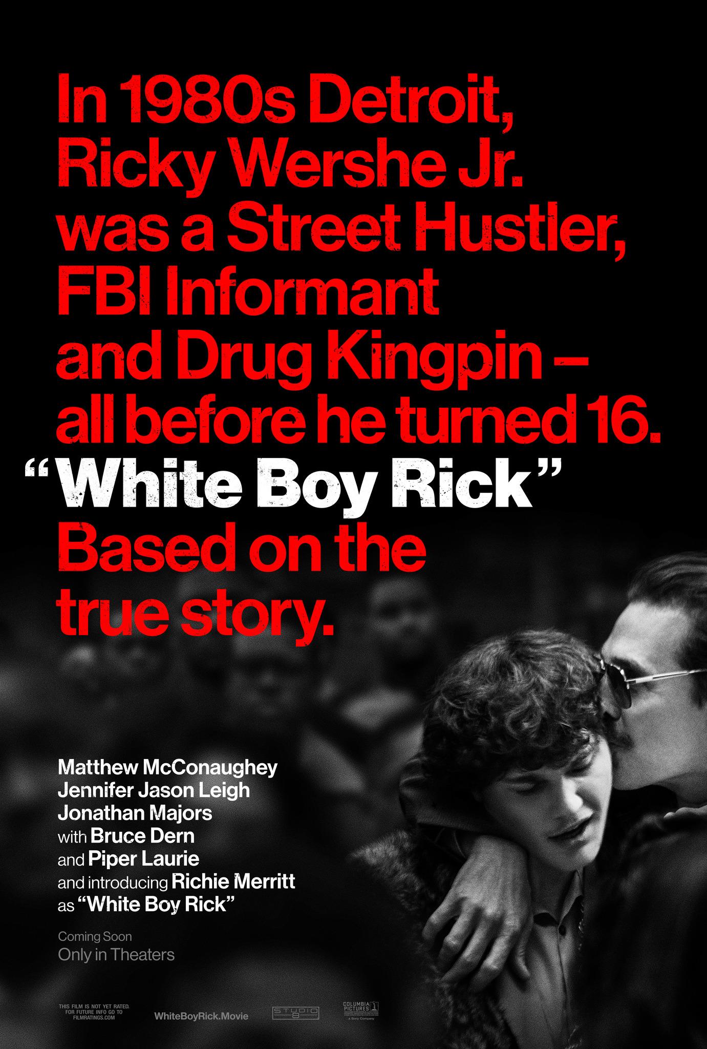 Белый парень Рик, постер № 1