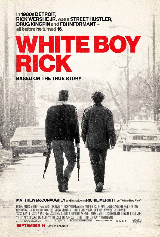 Белый парень Рик, постер № 3