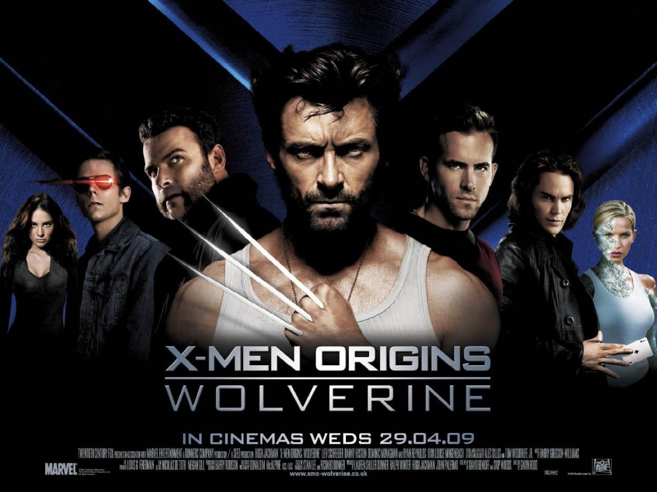 origins X wolverine men