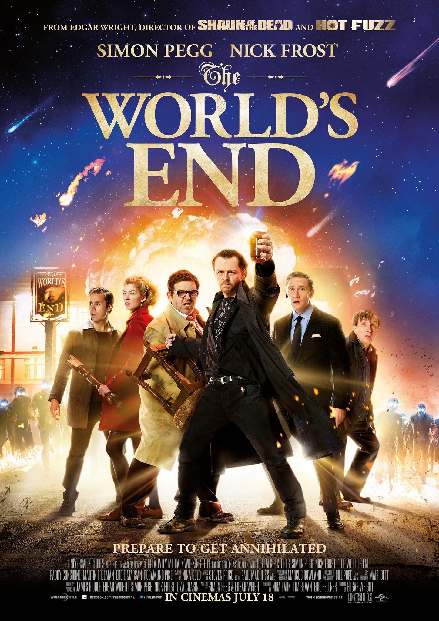 The World's End (2013) BRRip XviD-CrEwSaDe