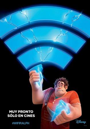Постеры фильма «Ральф против интернета»